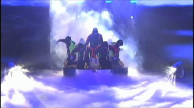Fog special effects by TLC on America's Got Talent
